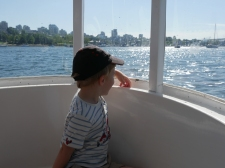 A bord d'un AquaBus