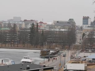 vue de Lappeenranta depuis Linnoitus