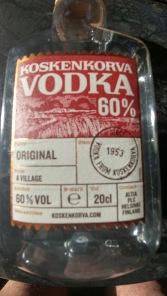 vodka originale