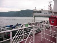 Traversier de la baie Sainte Catherine